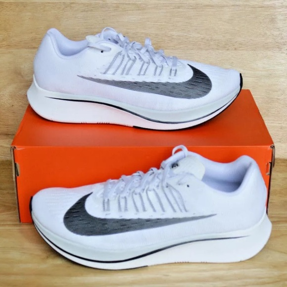a1437dd37df0 Nike Zoom Fly Running Shoes Pure Platinum Multi-Sz